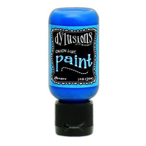 Ranger Dylusions Paint Flip Cap Bottle 29ml - London Blue DYQ70542 (02-20)