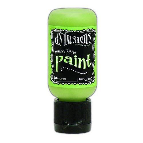 Ranger Dylusions Paint Flip Cap Bottle 29ml - Mushy Peas DYQ70566 (02-20)