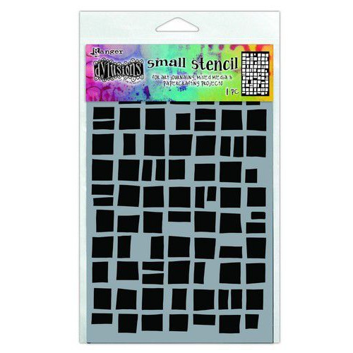 Ranger Dylusions Stencils Betsy's Block - Small DYS71426 (02-20)