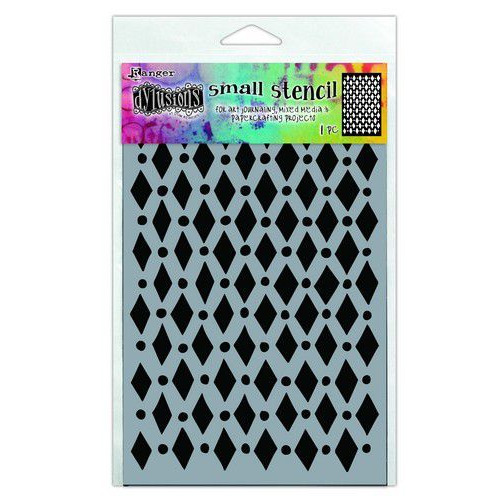Ranger Dylusions Stencils Court Jester - Small DYS71433 (02-20)