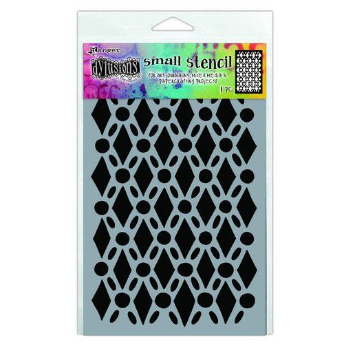 Ranger Dylusions Stencils Fancy Floor - Small DYS71440 (02-20)
