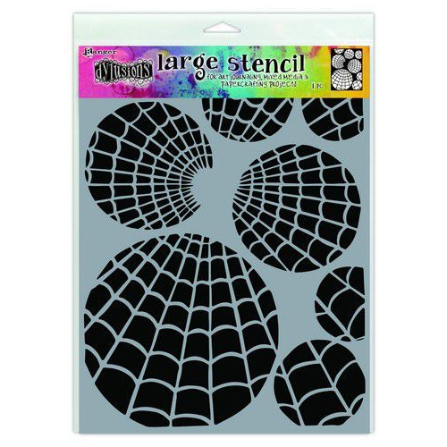 Ranger Dylusions Stencils Oti's Orbs - Large DYS71525 (02-20)