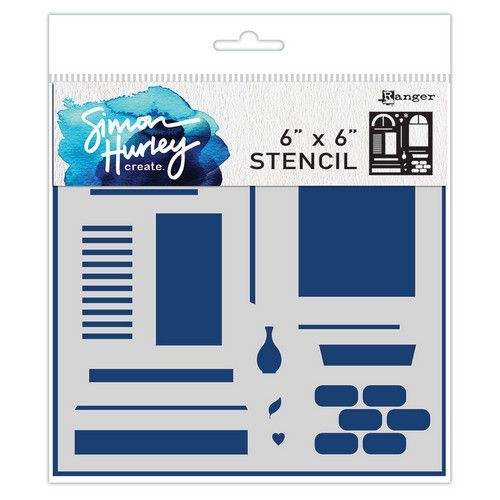 Ranger SH Stencils 6x6 Window Maker HUS71570 Simon Hurley (02-20)
