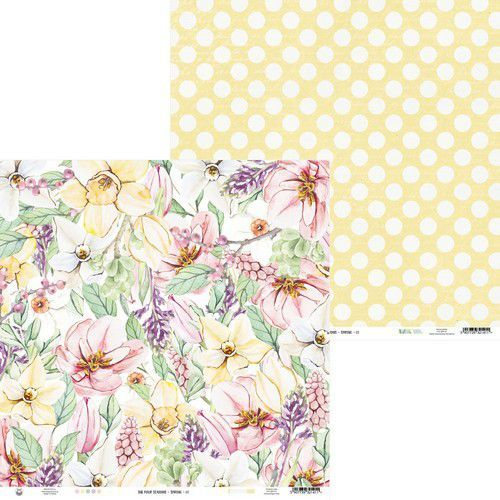 Piatek13 - Paper The Four Seasons - Spring 01 P13-SPR-01 12x12 (02-20)