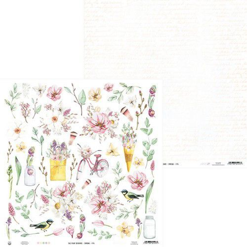 Piatek13 - Paper The Four Seasons - Spring 07a P13-SPR-07 12x12 (02-20)