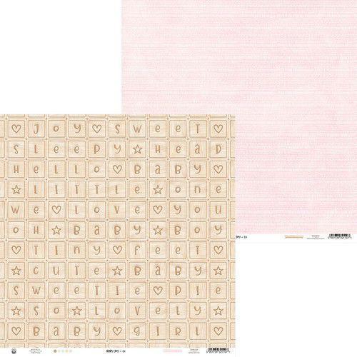 Piatek13 - Paper Baby Joy 01 P13-BAB-01 12x12 (02-20)