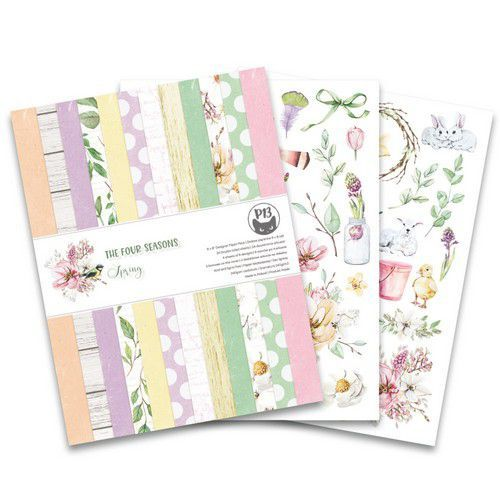 Piatek13 - Paper pad The Four Seasons - Spring 6x8 P13-SPR-10 (02-20)