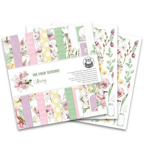 Piatek13 - Paper pad The Four Seasons - Spring 12x12 P13-SPR-08 (02-20)