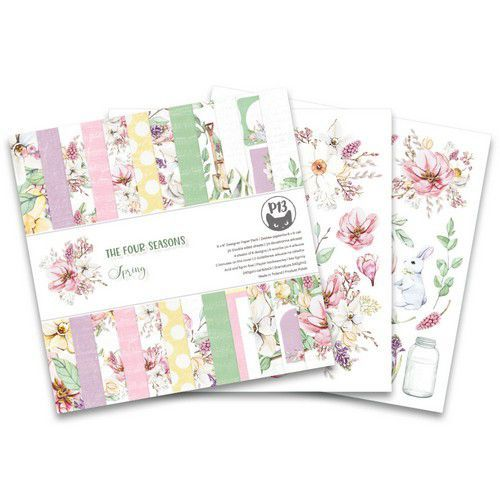 Piatek13 - Paper pad The Four Seasons - Spring 6x6 P13-SPR-09 (02-20)