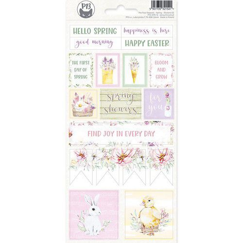 Piatek13 - Sticker sheet The Four Seasons - Spring 02 P13-SPR-12 10,5x23 cm (02-20)
