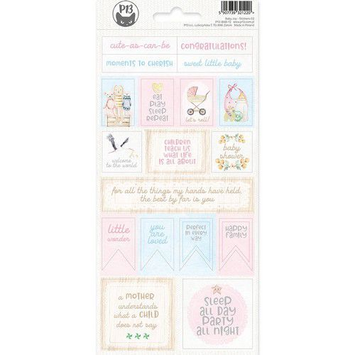Piatek13 - Sticker sheet Baby Joy 02 P13-BAB-12 10,5x23 cm (02-20)