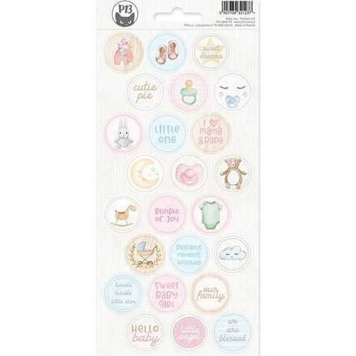 Piatek13 - Sticker sheet Baby Joy 03 P13-BAB-13 10,5x23 cm (02-20)
