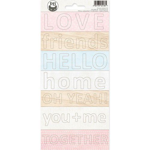 Piatek13 - Phrase sticker sheet Baby Joy 02 P13-BAB-38 10,5x23 cm (02-20)