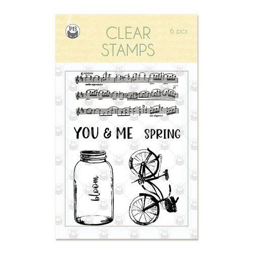 Piatek13 - Clear stamp set The Four Seasons Spring P13-SPR-30 A7 (02-20)