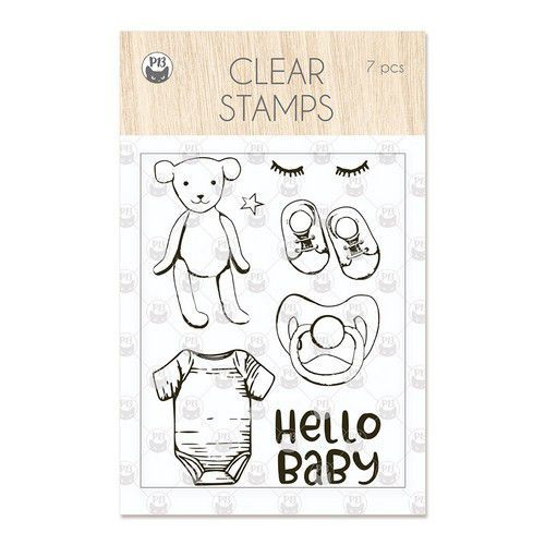 Piatek13 - Clear stamp set Baby Joy Hello Baby P13-BAB-30 A7 (02-20)