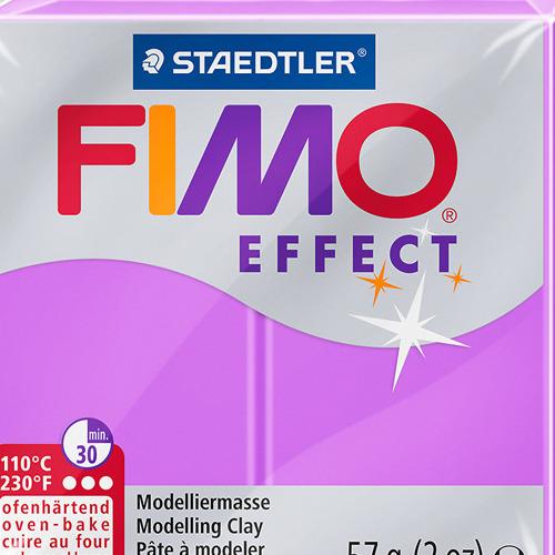 Fimo effect neon 57 gr violet