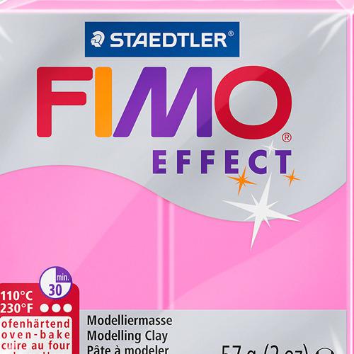 Fimo effect neon 57 gr fuchsia