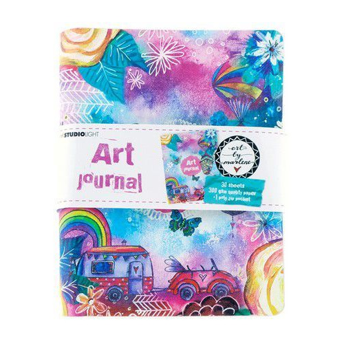 Studio Light Ringbinder Art Journal Art By Marlene 5.0 nr.09 JOURNALBM09 (02-20)