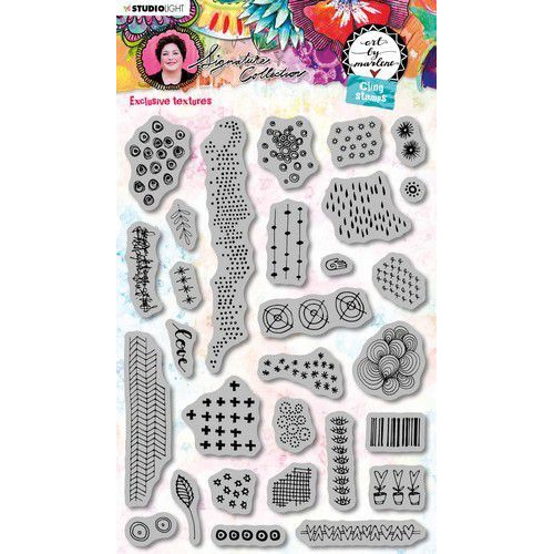 Studio Light Cling Stamp Art By Marlene 5.0 nr.47 STAMPBM47 (02-20)
