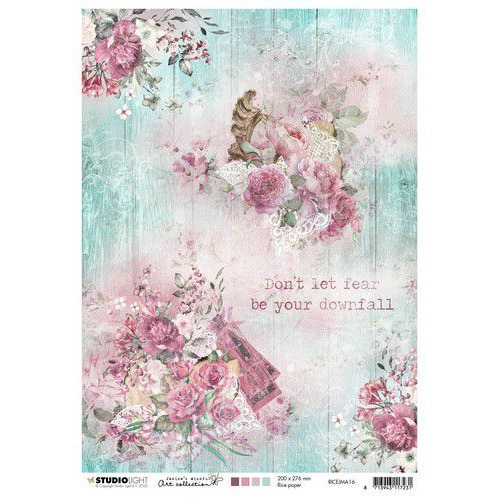Studio Light Rice Paper A4 vel Jenine's Mindful Art 3.0 nr.16 RICEJMA16 (03-20)