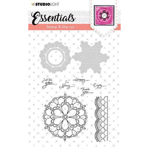 Studio Light Stamp & Die Cut A6 Essentials nr.37 BASICSDC37 (03-20)