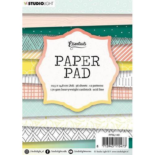 Studio Light paper pad 36 vel 12 patronen nr.140 PPSL140  A6 (03-20)