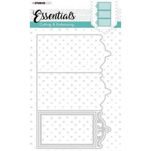 Studio Light Embossing Die Cut Essentials nr.263 STENCILSL263 (03-20)