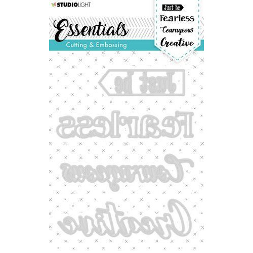 Studio Light Embossing Die Cut Essentials nr.269 STENCILSL269 (03-20)