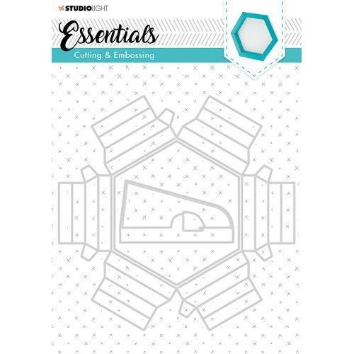 Studio Light Embossing Die Cut Essentials nr.271 STENCILSL271 (03-20)