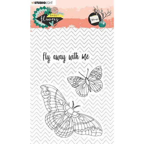 Studio Light Stamp A6 Sweet Flowers nr.437 STAMPSFL437 (03-20)