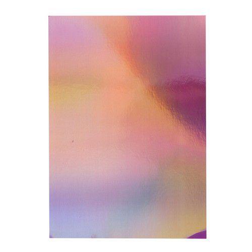 Tonic Studios  spiegelkarton-Irridescent-Petal Pink 5 vl A4 9775E (02-20)