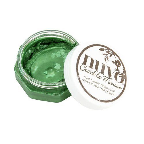 Nuvo Crackle Mousse - Chameleon Green 1395N (02-20)