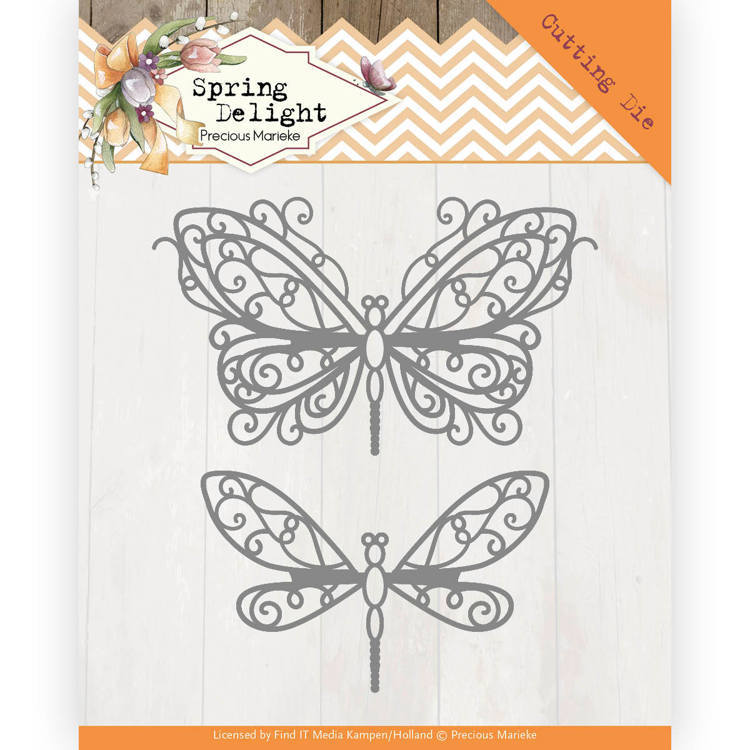Dies - Precious Marieke - Spring Delight - Spring Butterfly