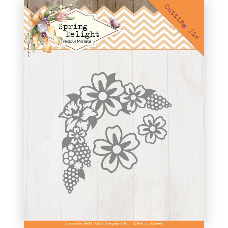 Dies - Precious Marieke - Spring Delight - Spring Blossom