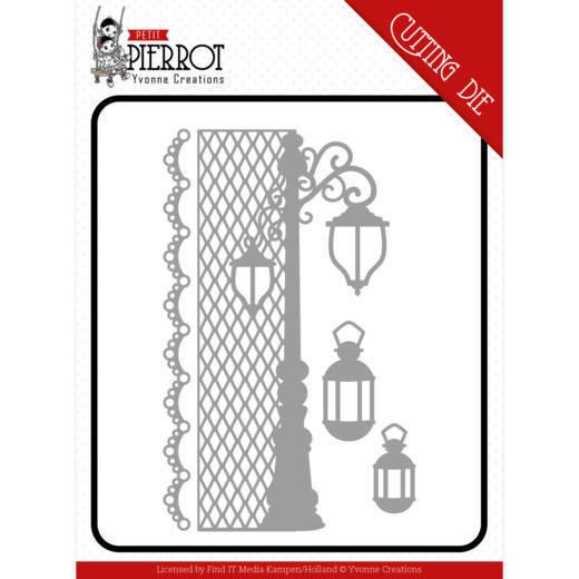 Dies - Yvonne Creations - Petit Pierrot - France Lantern