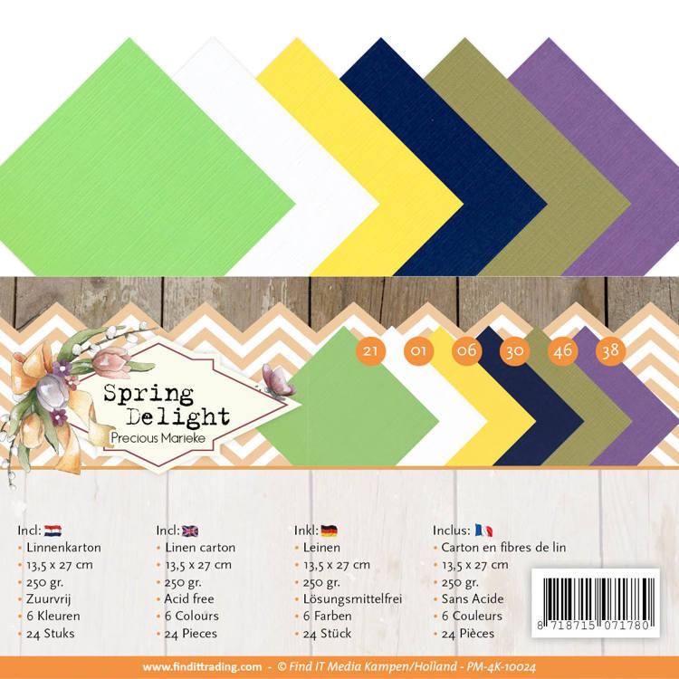 Linnen Carton Package - 4K - Precious Marieke - Spring Delight