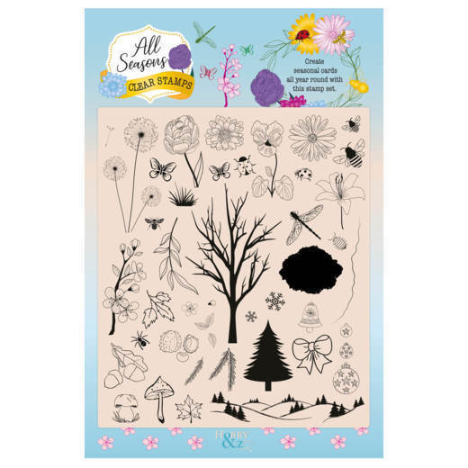 Clear Stamps - Hobby&Zo 5 - All Seasons