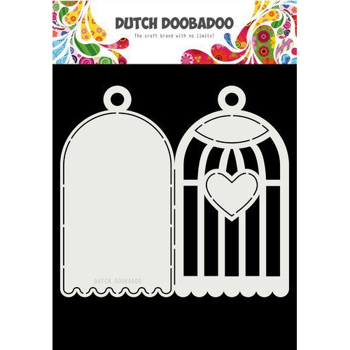 Dutch Doobadoo Card Art A4 Vogelkooi 470.713.770 (02-20)