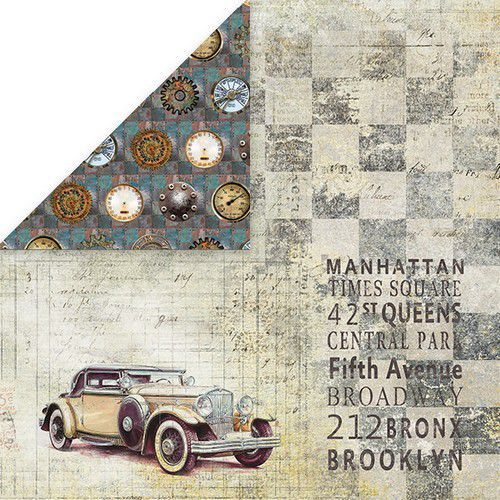 Craft&You Man's World Scrapbooking single paper 12x12 CP-MAN05 (02-20)
