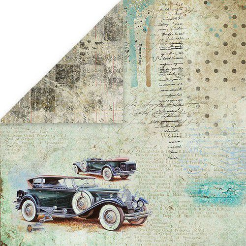 Craft&You Man's World Scrapbooking single paper 12x12 CP-MAN06 (02-20)
