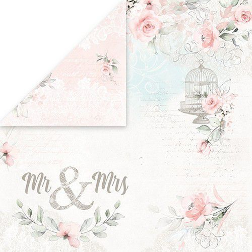 Craft&You Dream Ceremony Scrapbooking single paper 12x12 CP-DC02 (02-20)