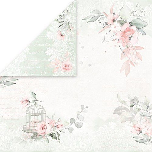 Craft&You Dream Ceremony Scrapbooking single paper 12x12 CP-DC03 (02-20)