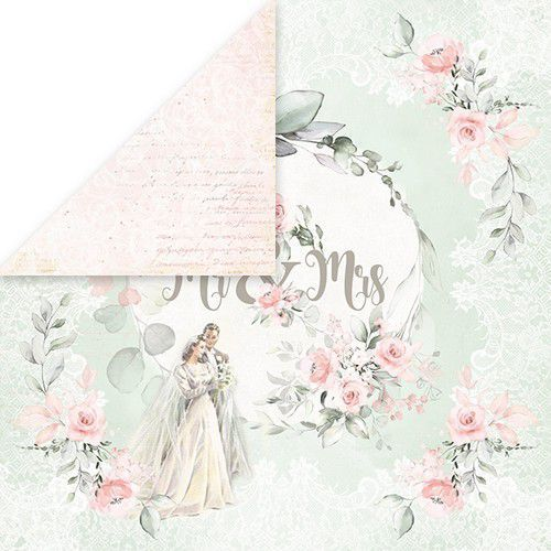 Craft&You Dream Ceremony Scrapbooking single paper 12x12 CP-DC06 (02-20)