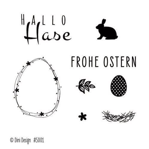 Dini Design Clearstamps  Ostern (DE) #5001 (02-20)