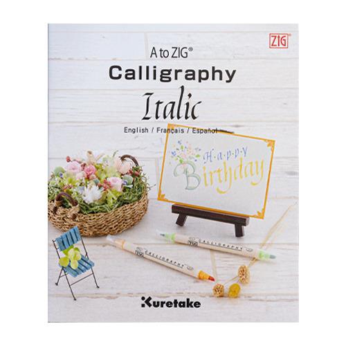 A to ZIG Calligraphy Italic