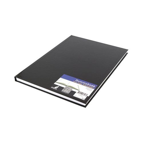 Dummyboek, hard cover, Zwart