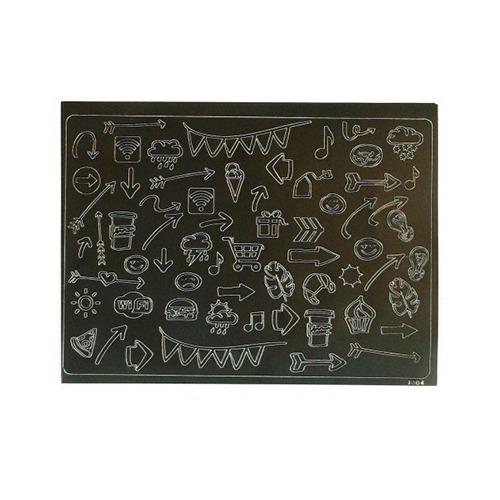 PeelOffs Lettering doodles