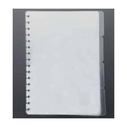 Tabsheets, transparent 4-voud