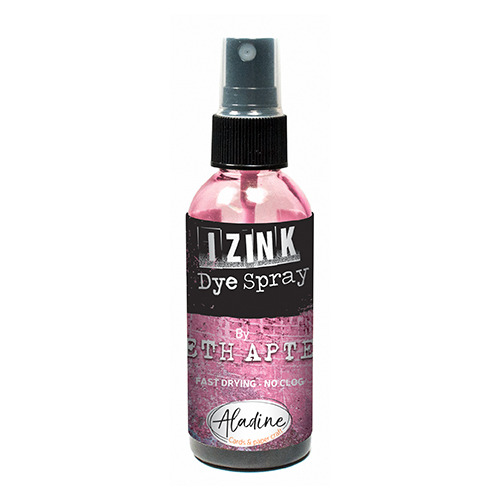 IZINK DYE SPRAY SETH APTER ROSE - FLAMINGO 80 ML - 2.7 Fl. Oz.