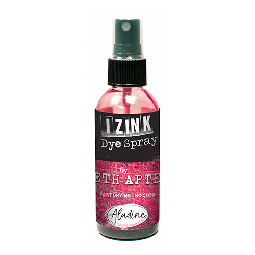 IZINK DYE SPRAY SETH APTER ROUGE - POMEGRANITE 80 ML - 2.7 Fl. Oz.